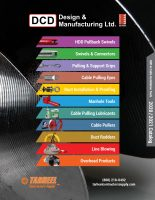 DCD Design and Manufacturing Products for Sale at Tarheel Contractor Supply